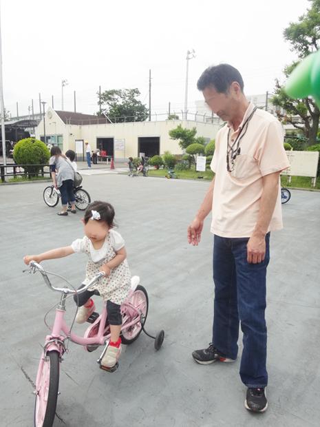 上千葉公園 自転車貸出