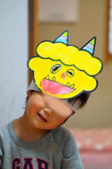 幼稚園の節分