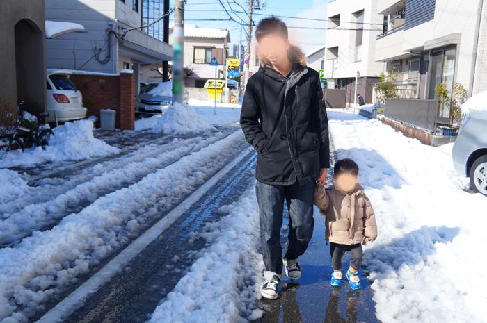 東京 積雪