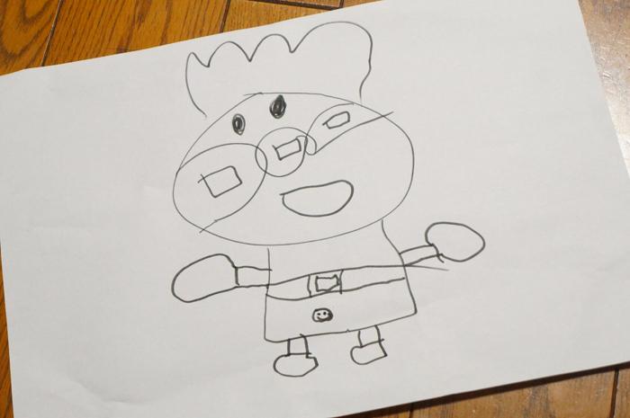 4歳 アンパンマン 絵