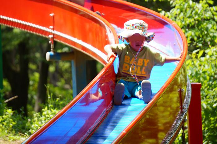 昭和記念公園 ローラー滑り台