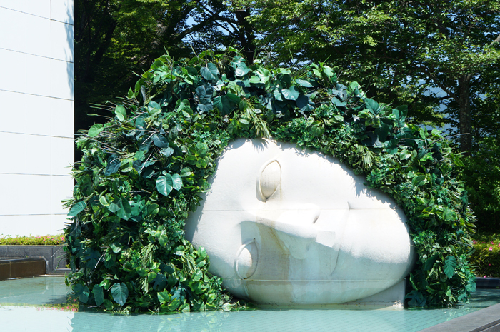 箱根彫刻の森美術館 フランソワ=ザビエ、クロード・ラランヌ 嘆きの天使