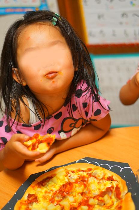 誕生日ディナー ピザ
