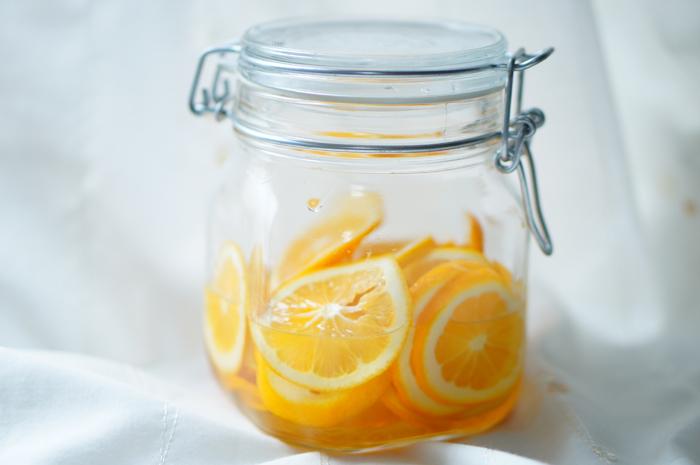 手作り はちみつレモン