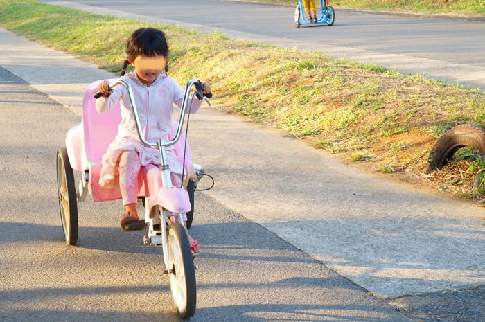 都民の日 成田ゆめ牧場 自転車