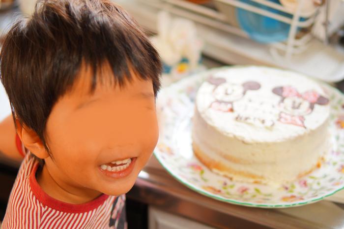 キャラケーキ キャラクターケーキ チョコペン