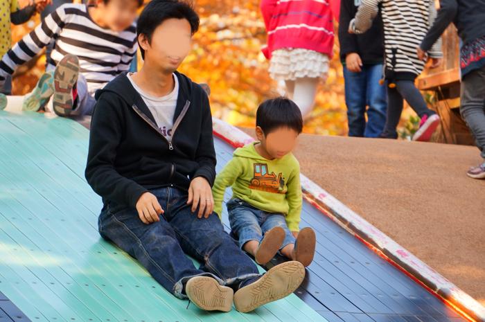 昭和記念公園 滑り台