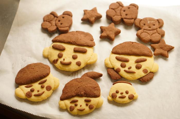 手作り クッキー 家遊び