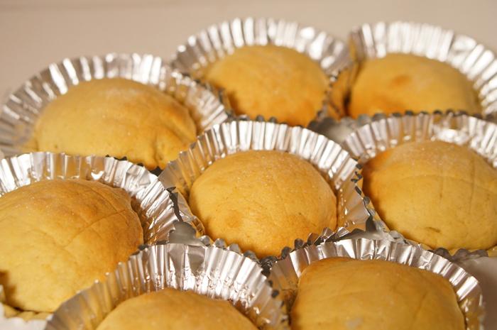 手作りパン パン メロンパン