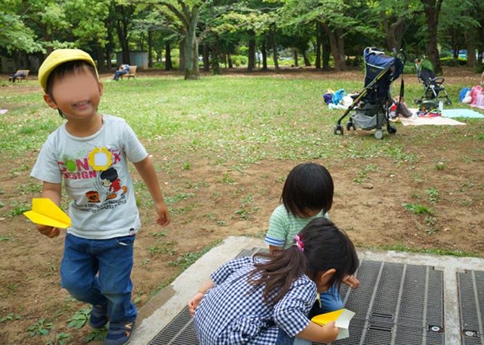 遠足 代々木公園 長男 年少さん