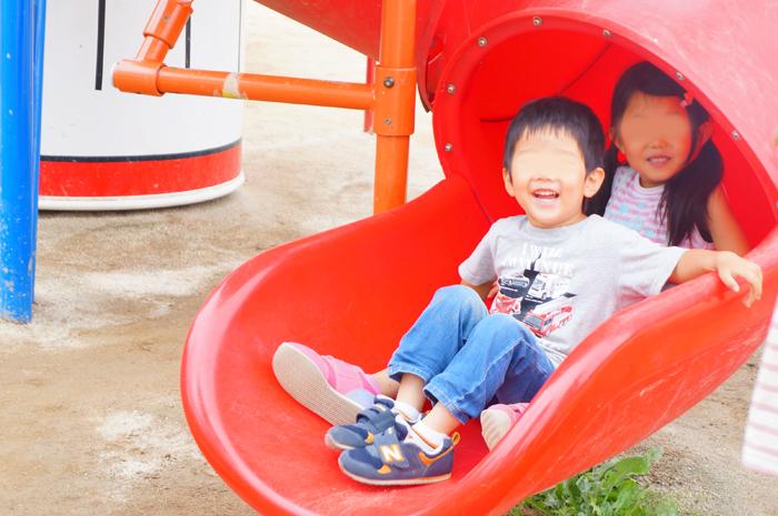 錦糸公園 ロケット滑り台