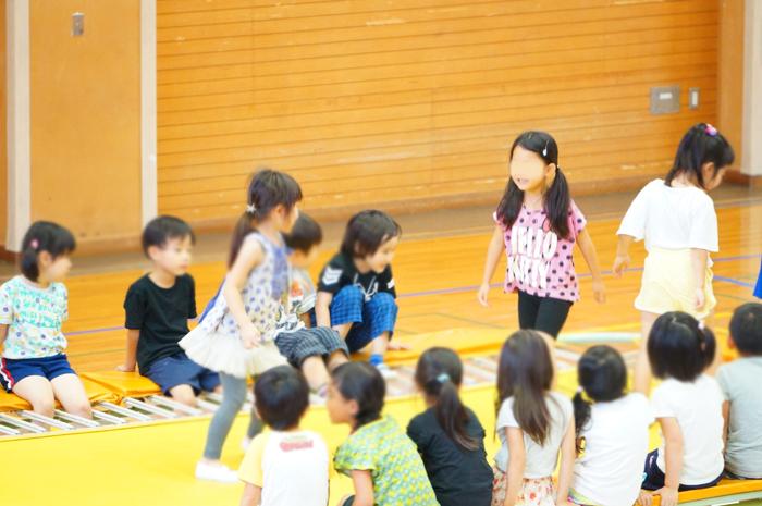 長女 体操クラブ