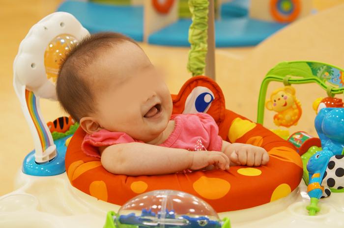 アネビートリムパーク お台場にある子どもと親のあそび場 赤ちゃん 次女