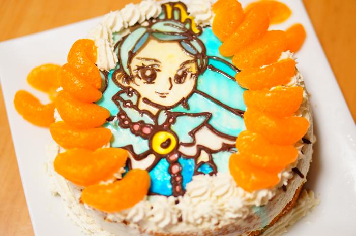 長女 誕生日 ケーキ