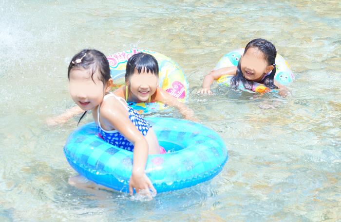 水遊び 長女
