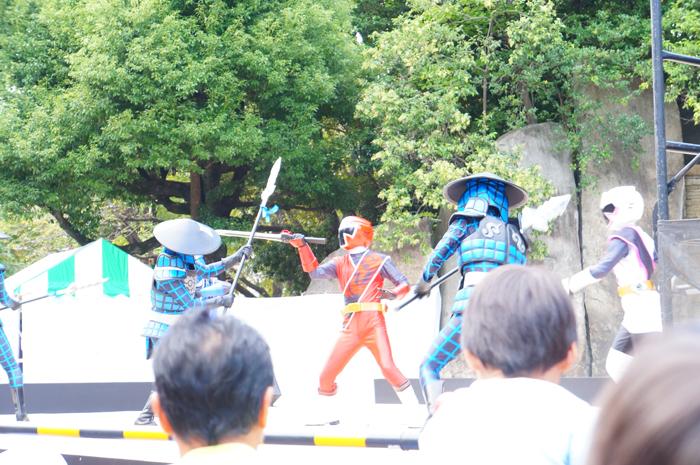 ニンニンジャー ショー 区民祭り