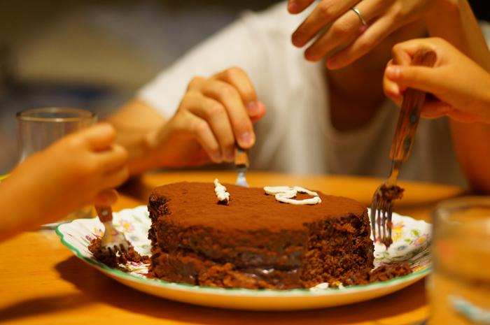 チョコレートケーキ 手作り 誕生日 しょうちゃん