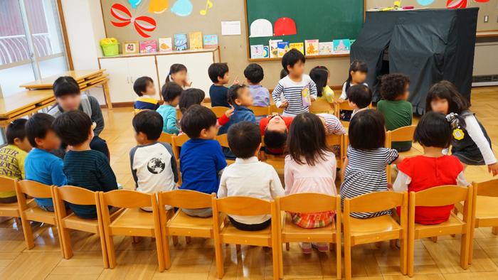 かーくん 年少 教室 幼稚園 誕生日会