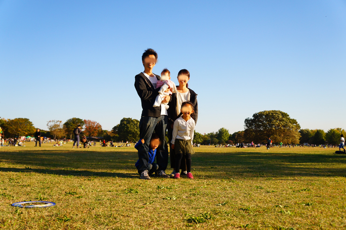 昭和記念公園 集合写真