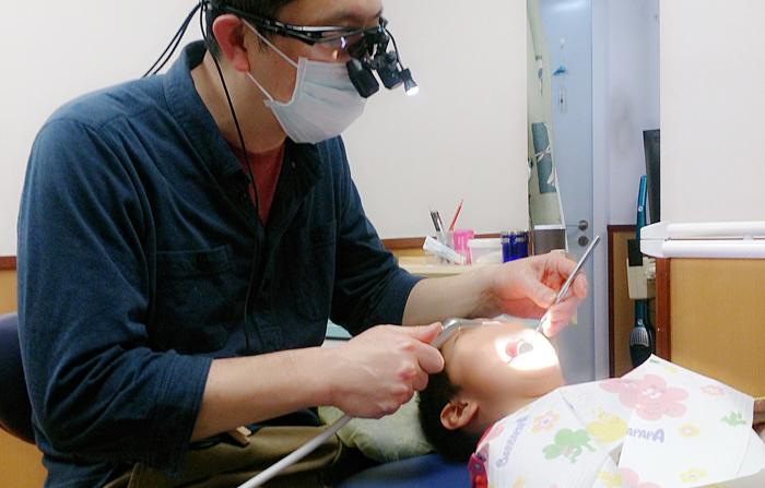 歯医者 長男