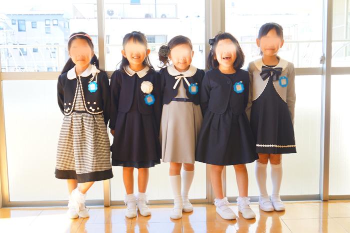 長女 幼稚園 卒園式