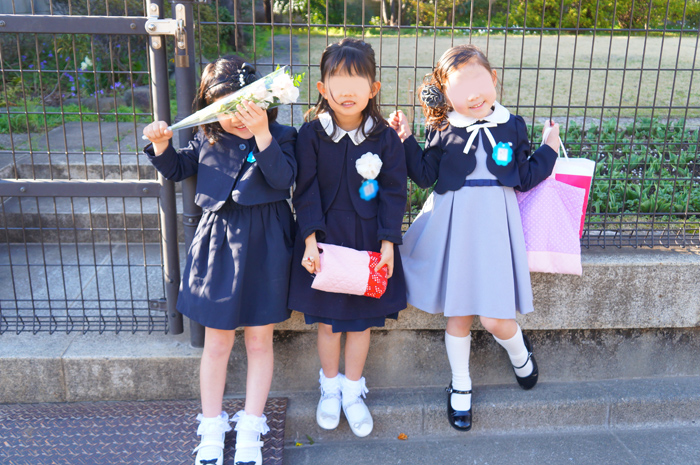 長女 幼稚園 謝恩会 卒園式