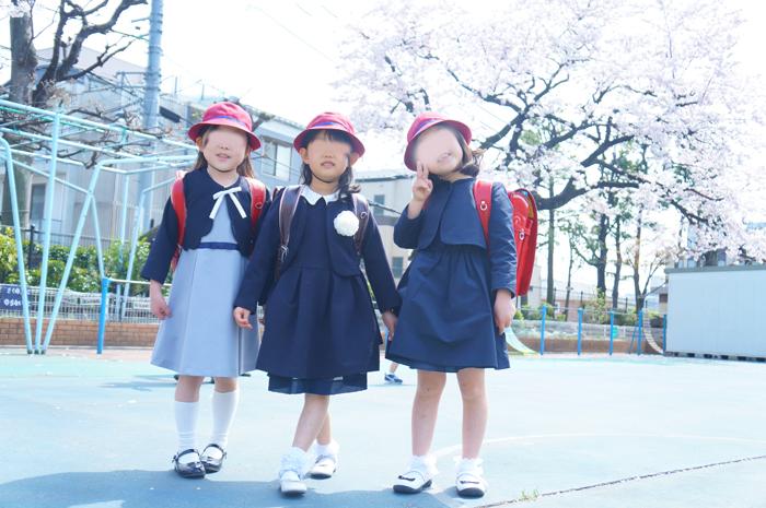 入学式 長女