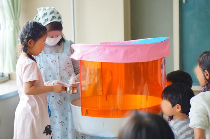 綿あめ 児童館