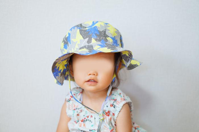 長男 手作り 帽子