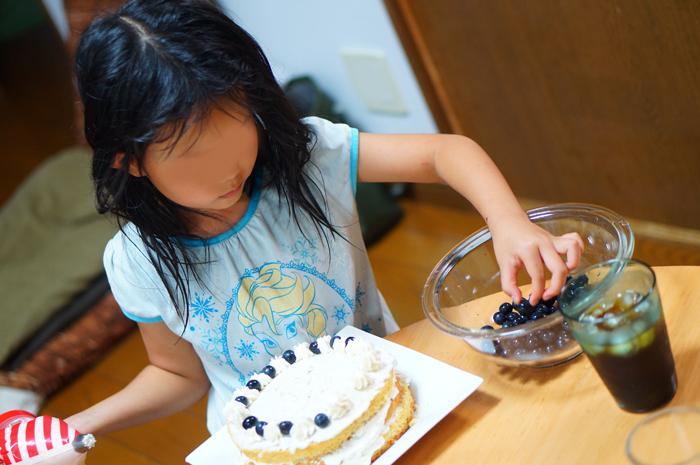 誕生日ケーキ 手作り 長女