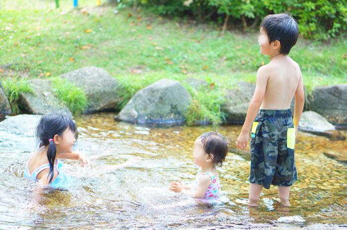 水遊び あらかわ遊園