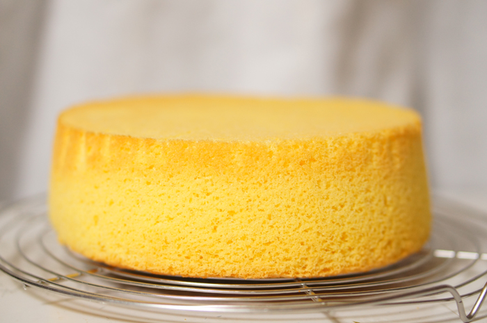 手作り スポンジケーキ