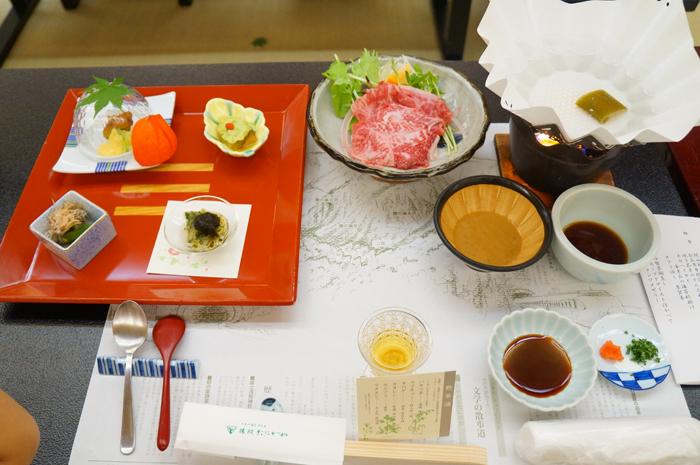 谷川 夕食