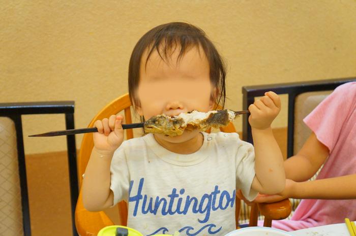 谷川 夕食 次女