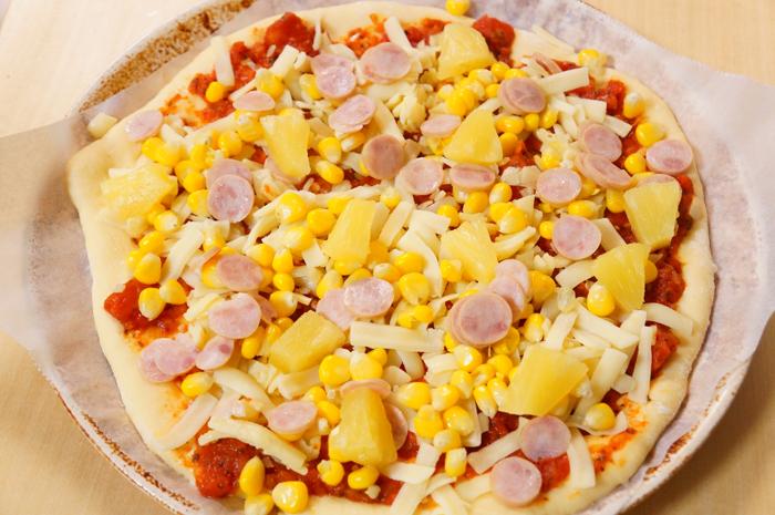 パイナップルピザ
