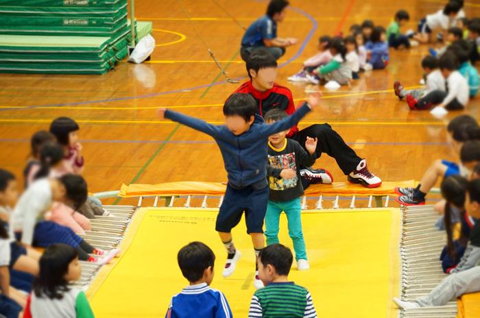 長男 体操教室