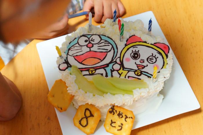 ケーキ 誕生日ケーキ ドラえもん なーちゃん