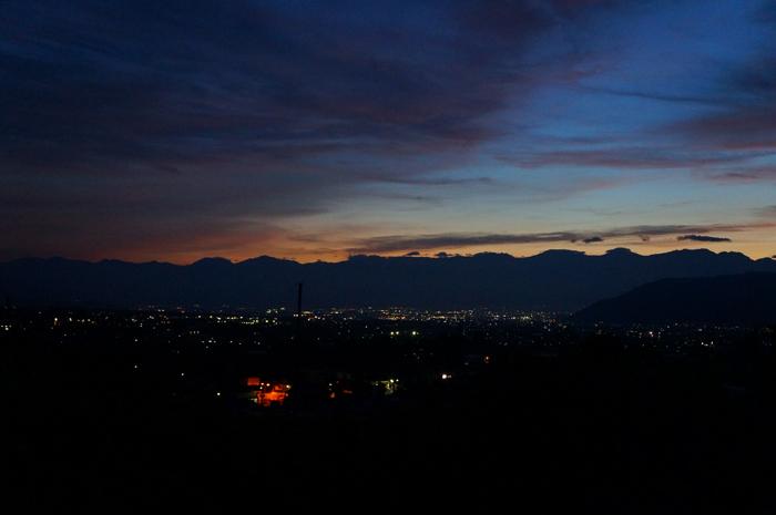 山梨 甲府 夜景