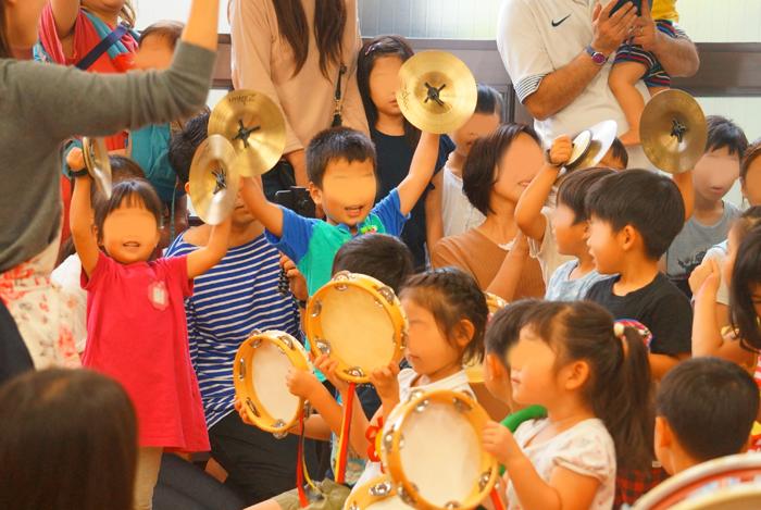 幼稚園 合奏